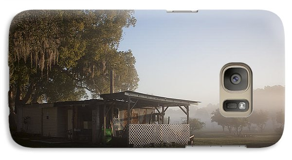 Galaxy Case featuring the photograph Early Morning On The Farm by Lynn Palmer