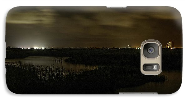 Galaxy Case featuring the digital art Early Morning Over Lake Shelby by Michael Thomas