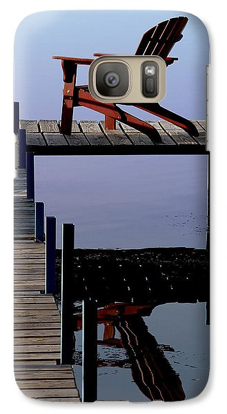 Galaxy Case featuring the photograph Early Morning Peace by Kathleen Scanlan