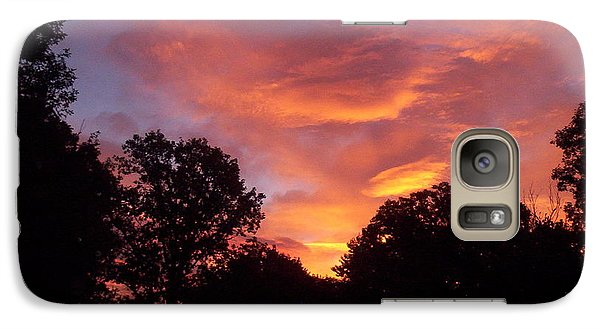 Galaxy Case featuring the photograph Early Morning Rise by Yolanda Raker