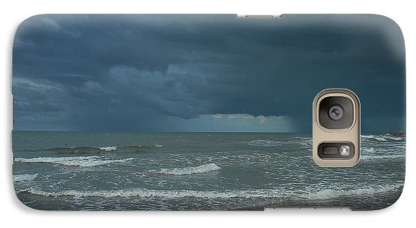 Galaxy Case featuring the photograph Early Morning Storm by Susan D Moody