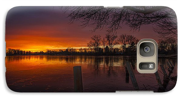 Galaxy Case featuring the photograph Early Morning Sunrise by Nicholas  Grunas