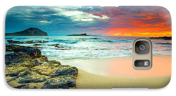 Galaxy Case featuring the photograph Early Morning Sunrise by Robert  Aycock