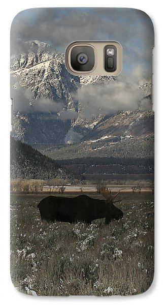 Galaxy Case featuring the photograph Early Riser by Gary Hall