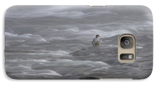 Galaxy Case featuring the photograph Early Riser Waiting For Breakfast by Gerry Sibell
