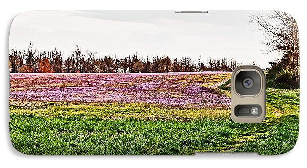 Galaxy Case featuring the photograph Early Spring Field by Greg Jackson