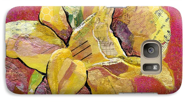 Orchid Galaxy S7 Case - Early Spring I Daffodil Series by Shadia Derbyshire