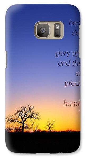 Galaxy Case featuring the photograph Early Spring Oak Psalms 19 by Ed Cilley