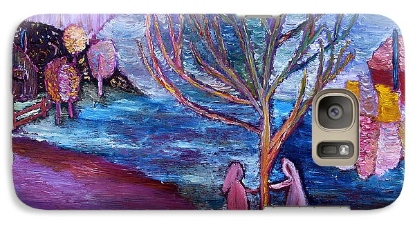 Galaxy Case featuring the painting Early Spring by Vadim Levin