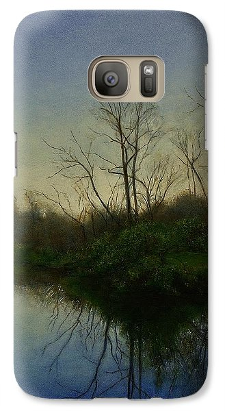 Galaxy Case featuring the painting Early Spring by Wayne Daniels