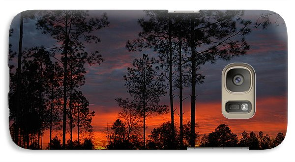 Galaxy Case featuring the photograph Early Sunrise by Donald Williams