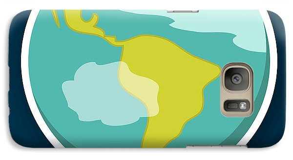 Science Fiction Galaxy S7 Case - Earth by Christy Beckwith