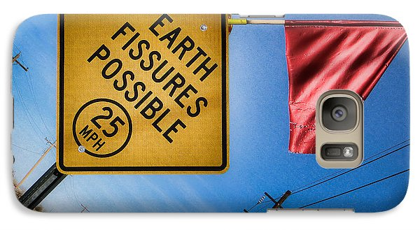 Galaxy Case featuring the photograph Earth Fissures Possible by Beverly Parks