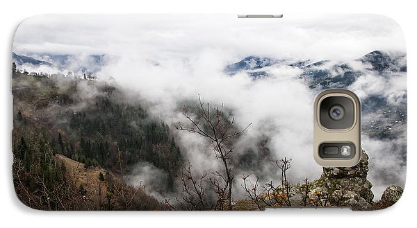 Galaxy Case featuring the photograph Earth by Gouzel -