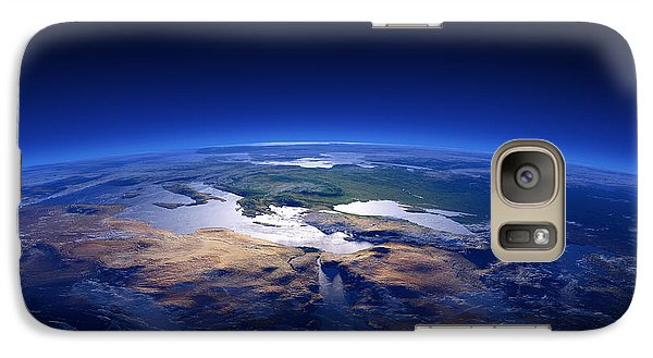 Turkey Galaxy S7 Case - Earth - Mediterranean Countries by Johan Swanepoel