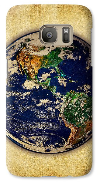 Galaxy Case featuring the photograph Earth by Mohamed Elkhamisy