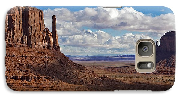 Galaxy Case featuring the photograph East And West Mittens by Jerry Fornarotto
