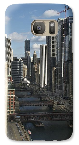 Galaxy Case featuring the photograph East Branch Bridges by Sheryl Thomas