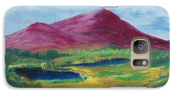 Galaxy Case featuring the painting East Of Schull by Conor Murphy