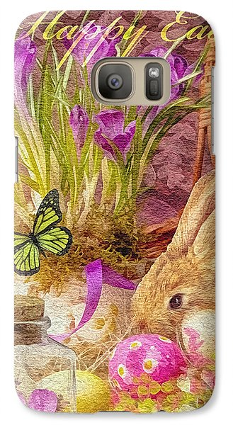 Mo Galaxy S7 Case - Easter Bunny by Mo T