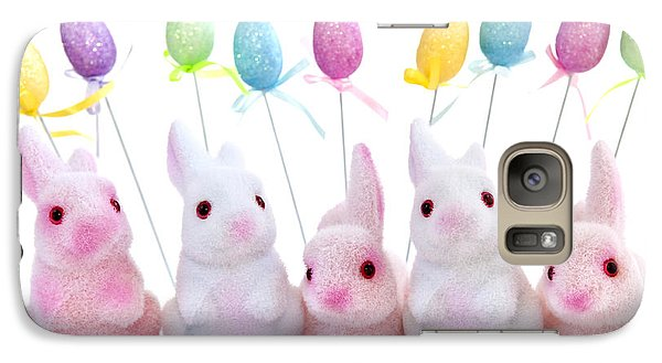 Easter Bunny Toys Galaxy Case by Elena Elisseeva