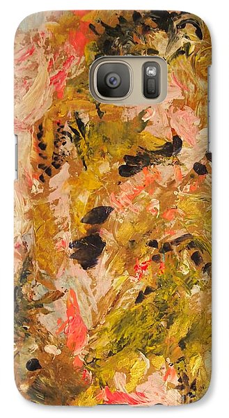 Galaxy Case featuring the painting Easter Lily by Nancy Kane Chapman