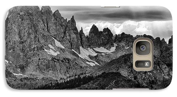 Galaxy Case featuring the photograph Eastern Sierras Summer Storm 2 by Terry Garvin
