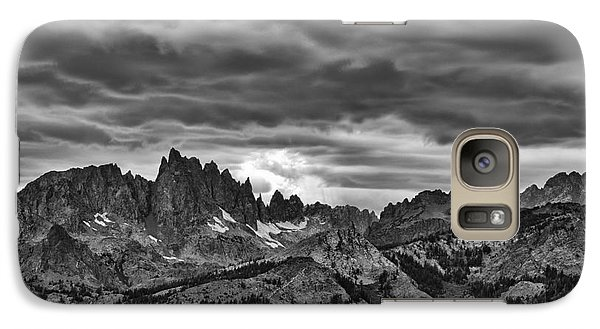 Galaxy Case featuring the photograph Eastern Sierras Summer Storm by Terry Garvin