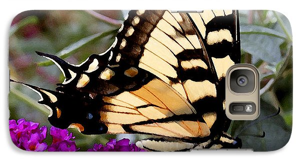 Galaxy Case featuring the photograph Eastern Tiger Butterfly by James C Thomas