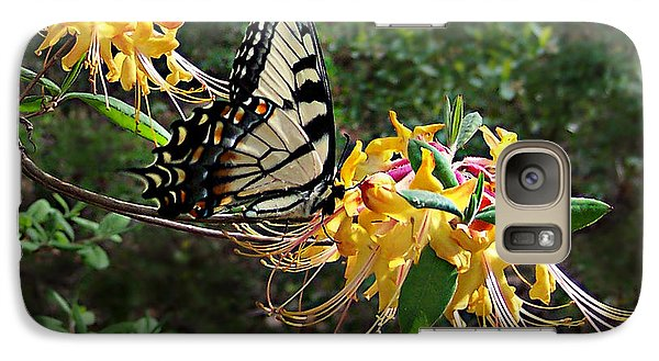 Galaxy Case featuring the photograph Eastern Tiger Swallowtail Butterfly by William Tanneberger