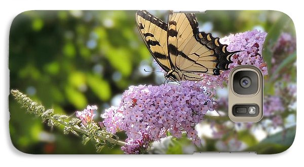 Galaxy Case featuring the photograph Eastern Tiger Swallowtail  by Teresa Schomig