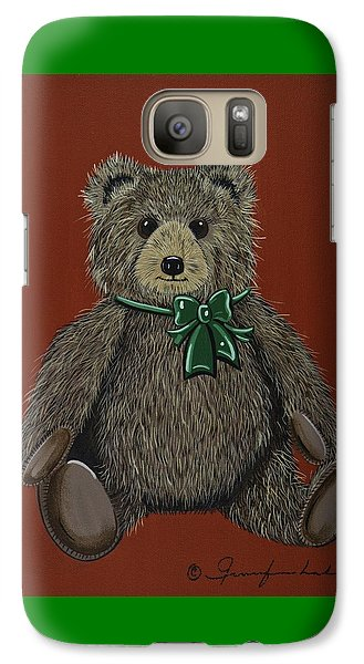 Galaxy Case featuring the painting Easton's Teddy by Jennifer Lake
