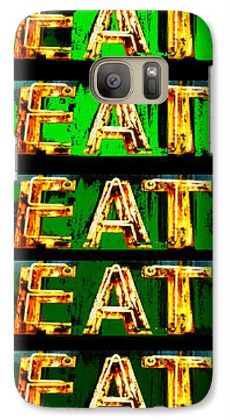 Galaxy Case featuring the photograph Eat Up by Jame Hayes