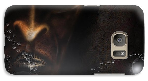Galaxy Case featuring the digital art Eater Of Dreams by Jeremy Martinson