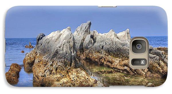 Galaxy Case featuring the photograph Ebb Tide-2 by Tad Kanazaki