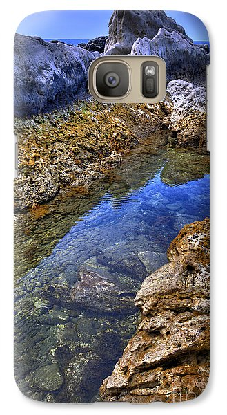 Galaxy Case featuring the photograph Ebb Tide by Tad Kanazaki