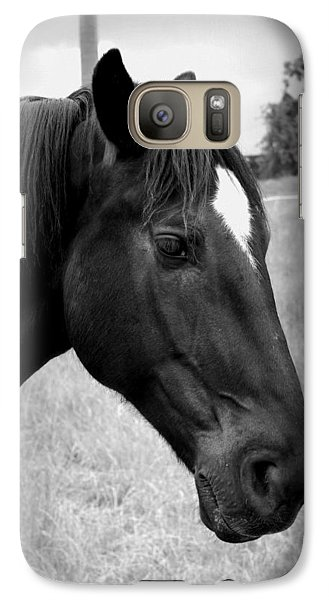 Galaxy Case featuring the photograph Ebony Beauty by Laurie Perry