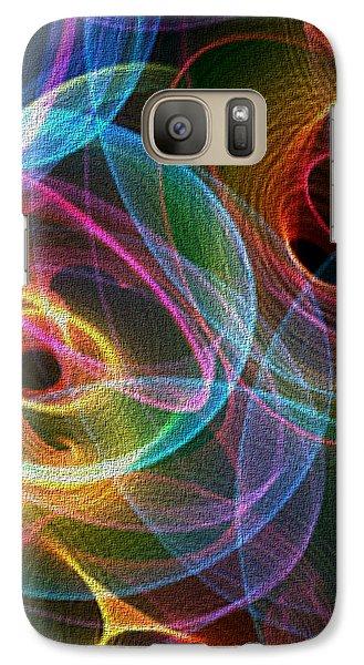 Galaxy Case featuring the digital art Echo by Owlspook