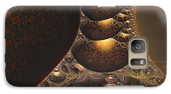 Galaxy Case featuring the digital art Eclipse by Melissa Messick