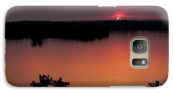 Galaxy Case featuring the photograph Eclipse Of The Sunset by Jason Politte