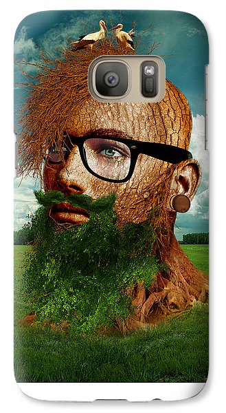 Stork Galaxy S7 Case - Eco Hipster by Marian Voicu