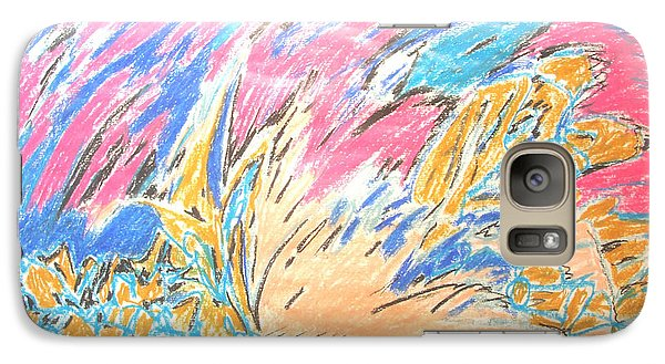 Galaxy Case featuring the painting Ecstasy by Esther Newman-Cohen