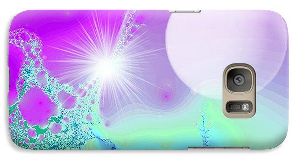 Galaxy Case featuring the digital art Ecstasy by Ute Posegga-Rudel