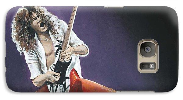 Eddie Van Halen Galaxy Case by Tom Carlton