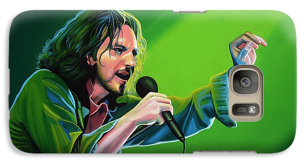 Eddie Vedder Of Pearl Jam Galaxy S7 Case