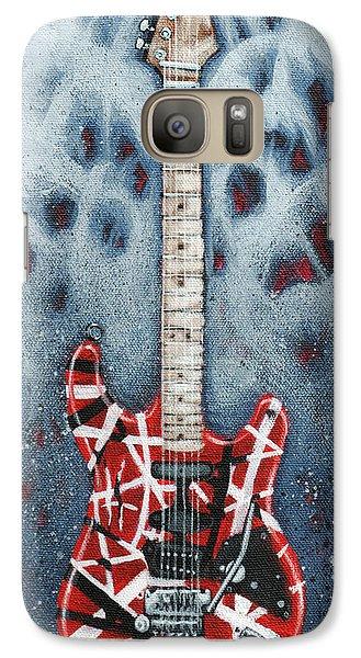 Rock And Roll Galaxy S7 Case - Eddie's Frankenstrat by Arturo Vilmenay