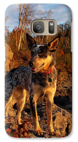 Galaxy Case featuring the photograph Edge Of Glory by James Peterson