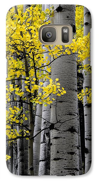 Galaxy Case featuring the photograph Edge Of Night by The Forests Edge Photography - Diane Sandoval