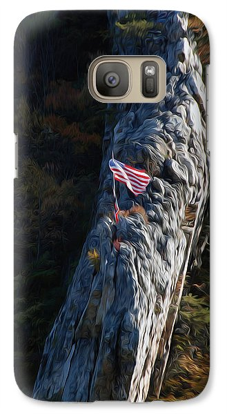 Galaxy Case featuring the digital art Edge Of The Ledge by Kelvin Booker