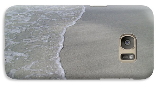 Galaxy Case featuring the photograph Edge Of The Ocean by Ginny Schmidt